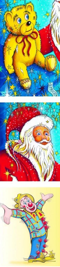 Santa, Bilbo's Adventures, A Christmas wish Children holiday book for kids by Real Magic Design Cheri & Peter John Lucking epublishing