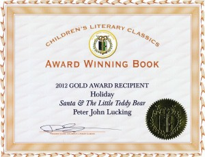 Childrens book Childrens Literary Classics Award-Winning Christmas book Santa and The Little Teddy Bear