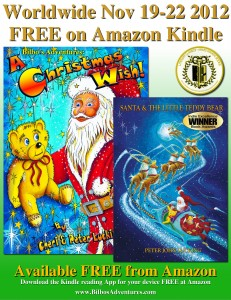 FREE, Christmas books, Amazon, Kindle, Children's Literary Classics Award, Winning, Christmas book, picture books
